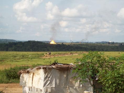 Flaring in Congo