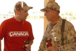 Tim Horton's opening Ceremony, Kandahar, 2006