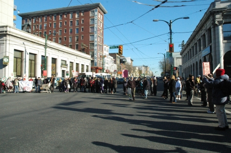 DTES women demand an end to street sweeps