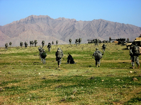Helmand Afghanistan Mountains