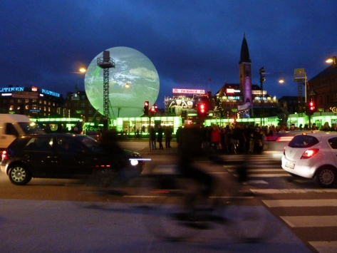 Copenhagen Night Globe