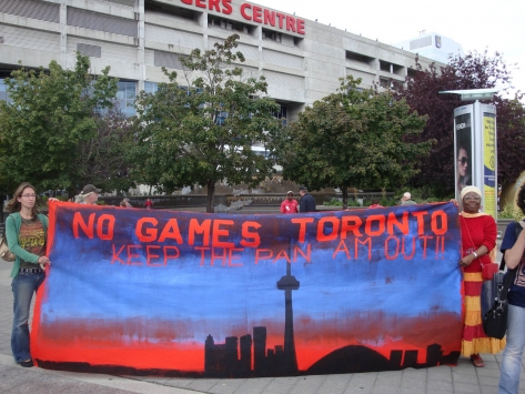 No to the Pan Am Games