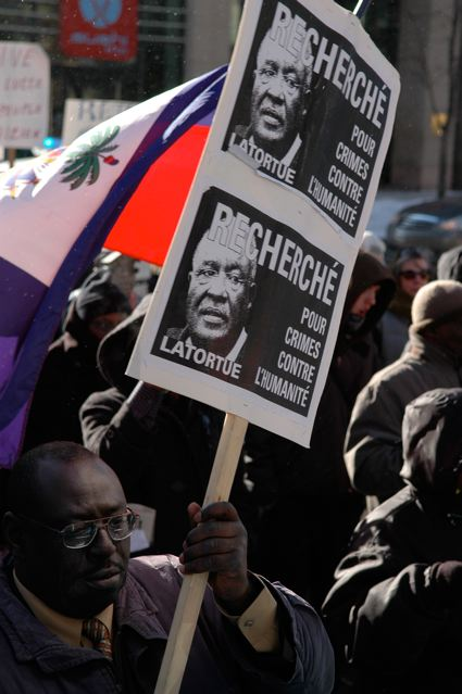 Haiti Solidarity March In Montreal 3