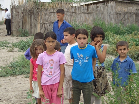 Internally Displaced Azerbaijan Children