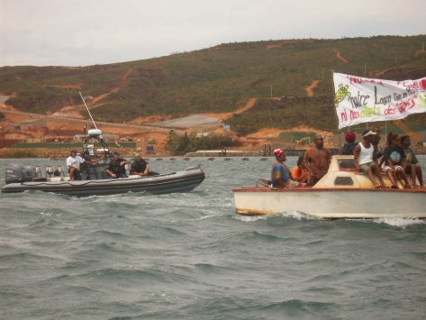New Caledonia Water Protest