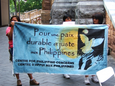 Protesting for a Just Peace in the Philippines