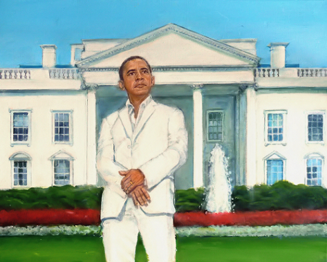 Obama at the White House