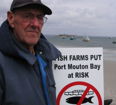 No to fish farming in Port Mouton Bay, NS