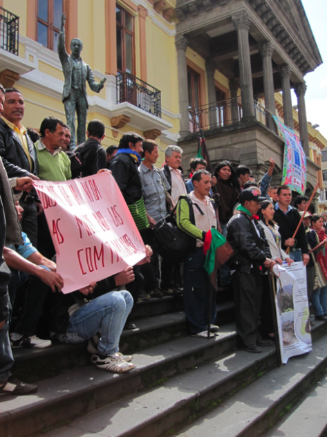 Colombian Farmers Demand Mining Dialogue