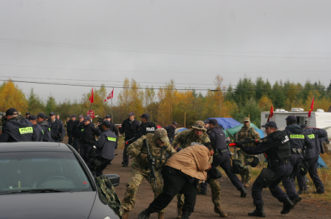 Confrontataion at Elsipogtog