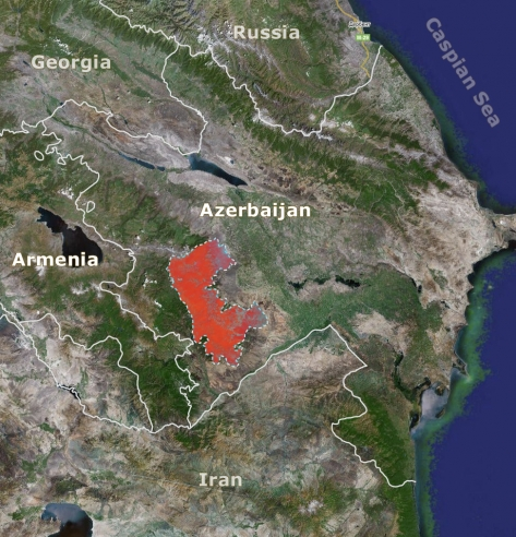 Disputed Territory in Azerbaijan