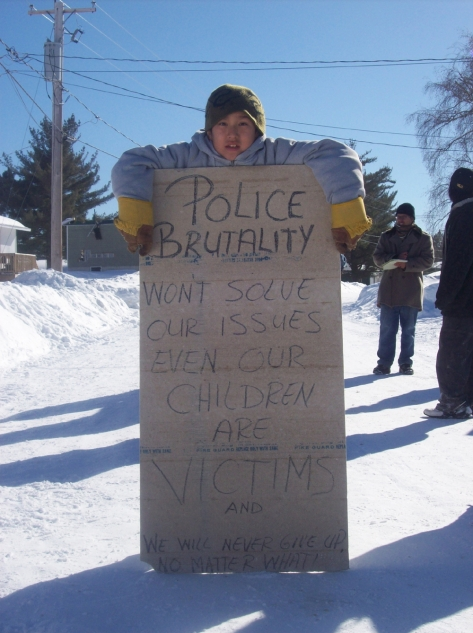 Barriere Lake Protest