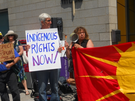 ABL rally Indigenous rights now