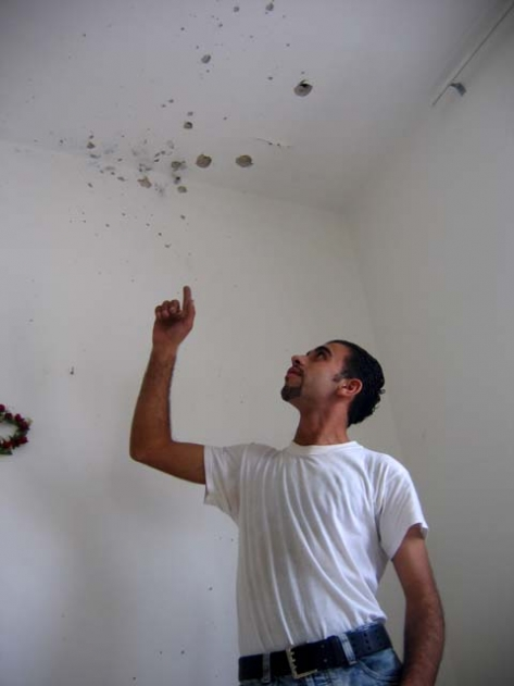 Bullet Holes in A Nablus House