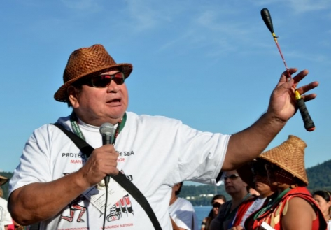 Leaders call for solidarity to protect the Salish sea