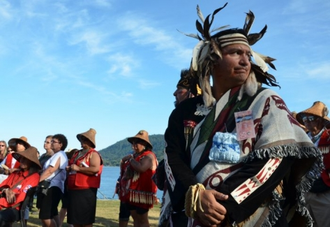 Leaders sign declaration to protect the Salish sea