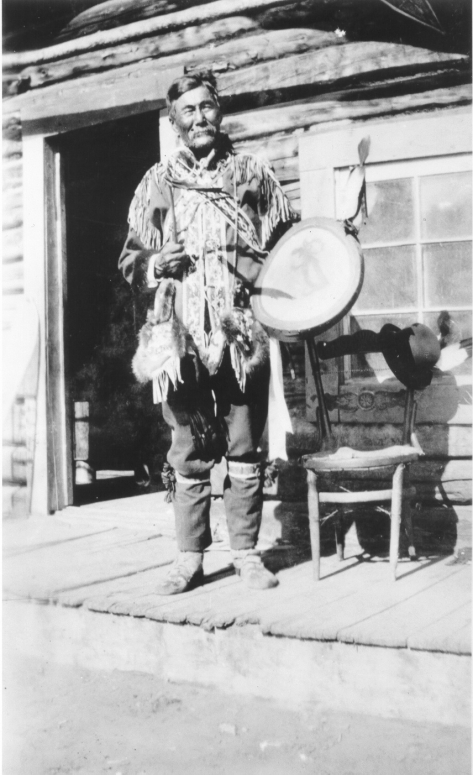 Chief Isaac of the Tr'ondëk Hwëch'in nation