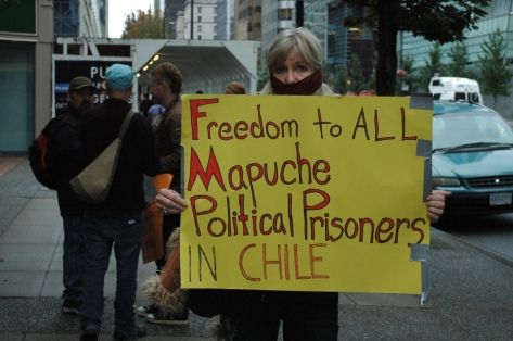 Freedom for Mapuche Political Prisoners