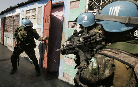 minustah stabalizing haiti essay Sent to haiti to keep the peace, departing un troops leave a damaged nation in their wake october 13, 2017 12 after all, since the arrival of the un stabilization mission in haiti (minustah) beyond stabilizing the country during a period of political tumult.