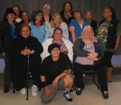 POW members at the Downtown Eastside Women's Centre
